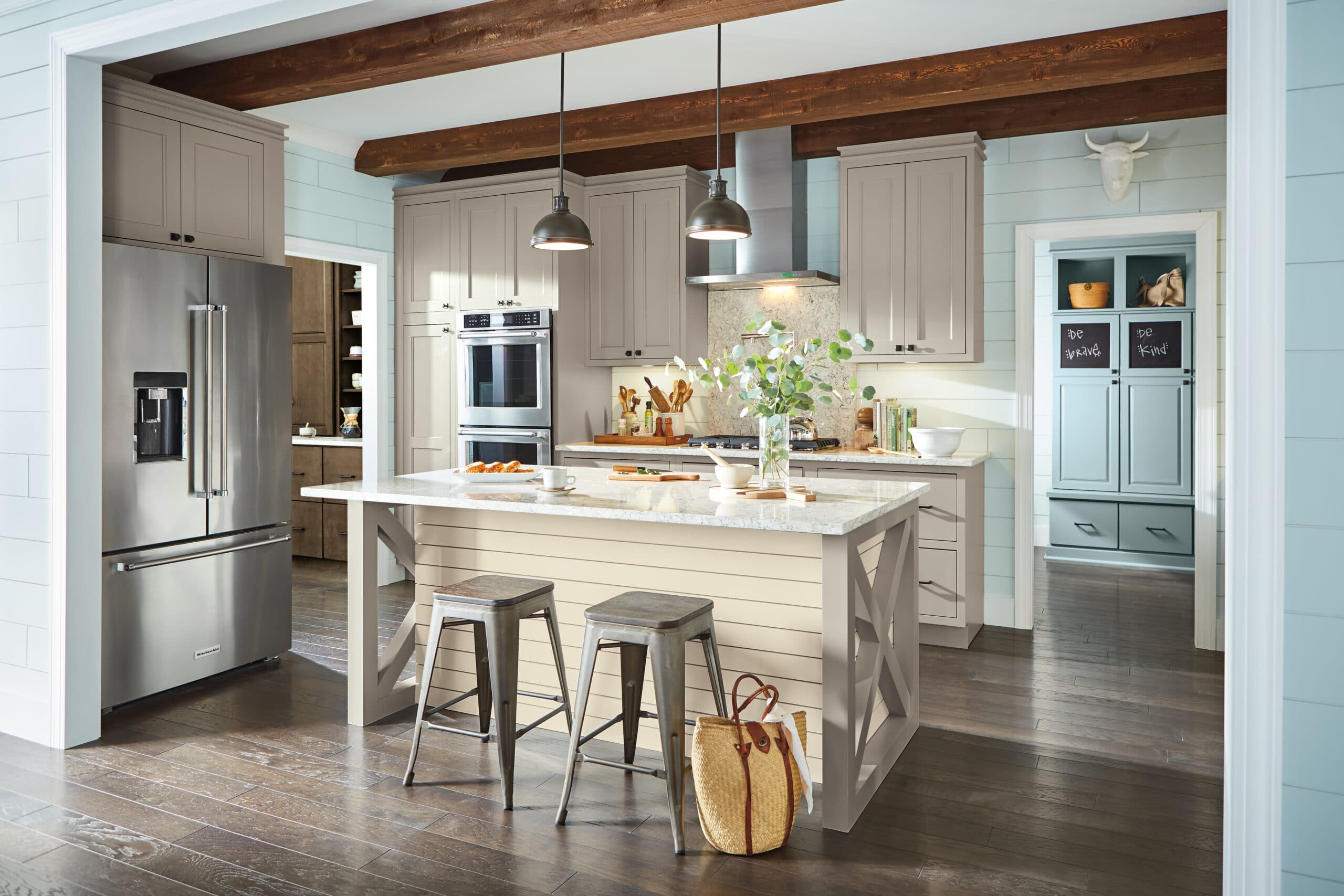 Where are Schrock Cabinets made?